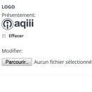Ajoutez votre logo et votre avatar